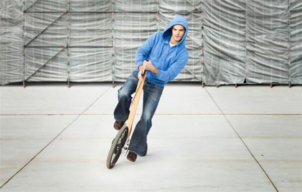 创新型城市站立骑行车(八)