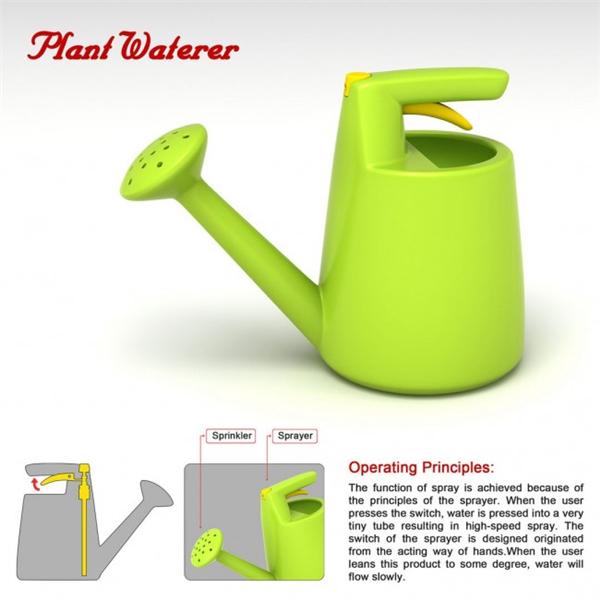 喷水清洁两用洒水壶(二)