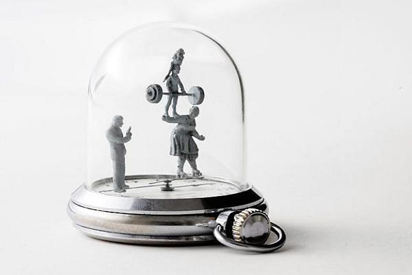 手表里的雕塑时光(五)