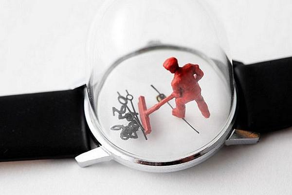手表里的雕塑时光(六)