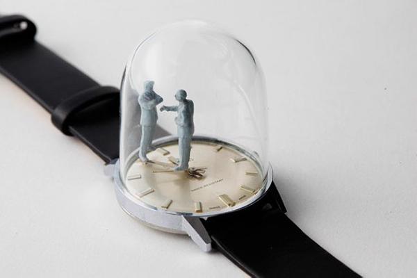 手表里的雕塑时光(二)