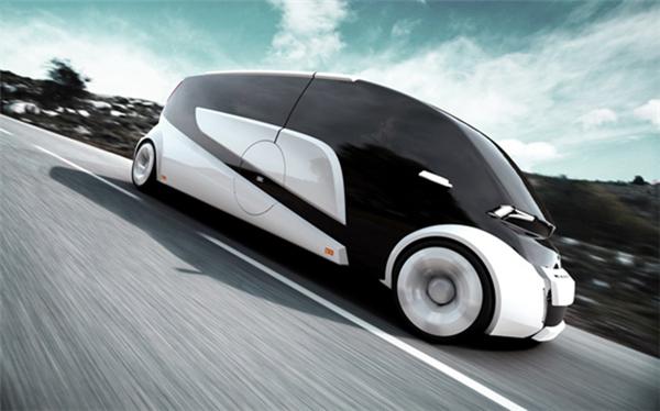 概念式分离微型车