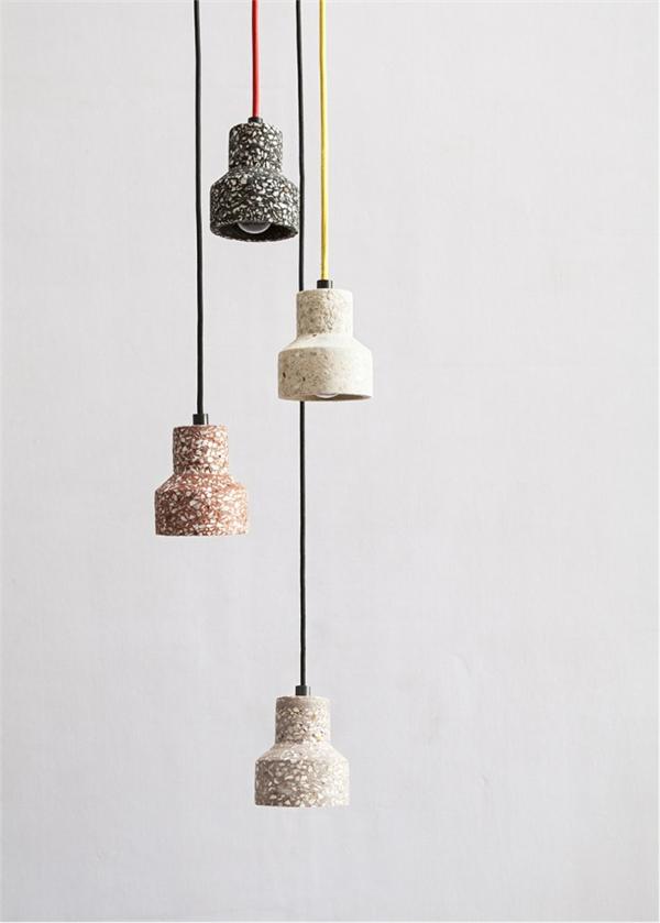 回归本质水磨石吊灯(三)