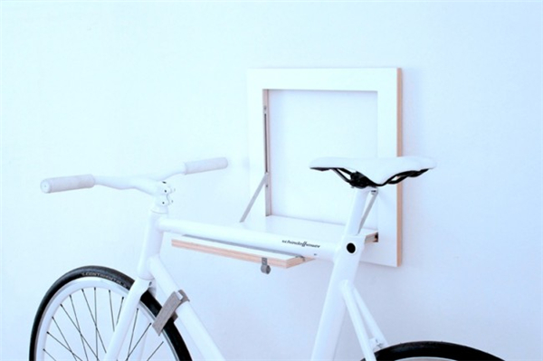 给力的自行车挂架