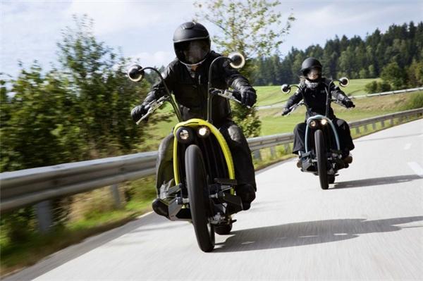复古有feel的电动摩托车(二)