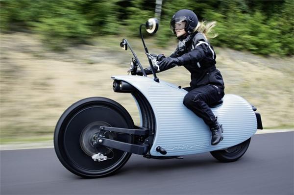 复古有feel的电动摩托车(四)