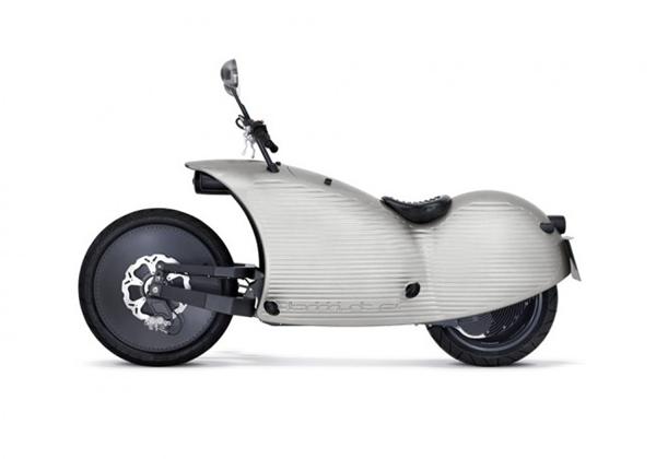 复古有feel的电动摩托车(五)