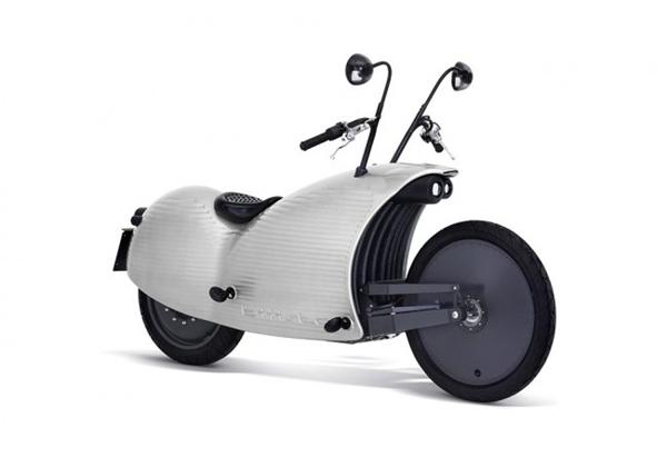 复古有feel的电动摩托车(七)