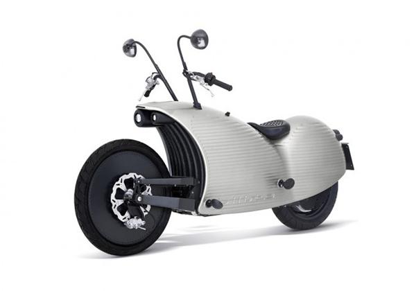 复古有feel的电动摩托车(八)