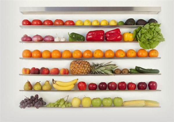 美丽醒目的水果墙(二)