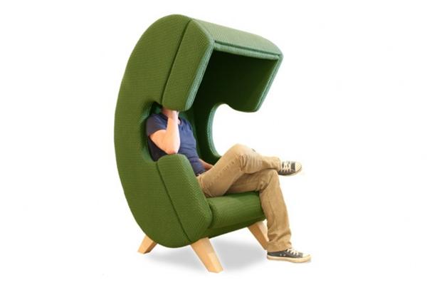 保证私人空间的听筒座椅