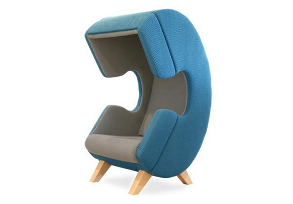 保证私人空间的听筒座椅(三)