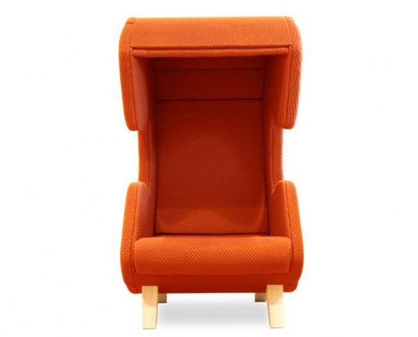 保证私人空间的听筒座椅(四)