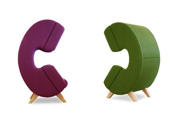 保证私人空间的听筒座椅(五)