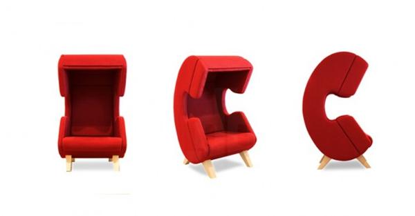 保证私人空间的听筒座椅(六)