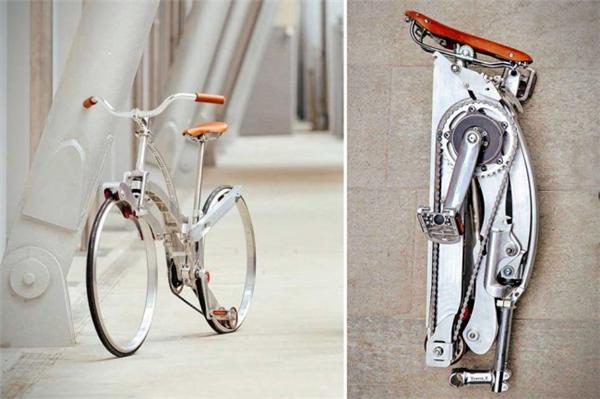 给力的折叠自行车设计