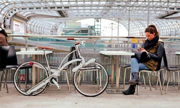 给力的折叠自行车设计(二)