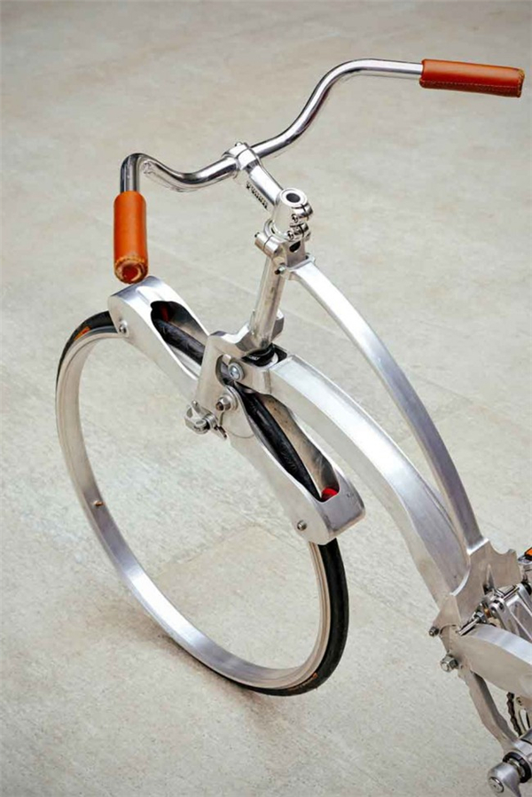 给力的折叠自行车设计(三)