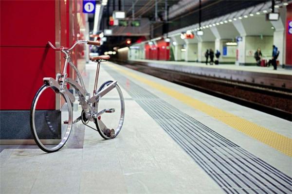 给力的折叠自行车设计(五)