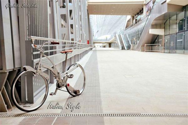 给力的折叠自行车设计(六)