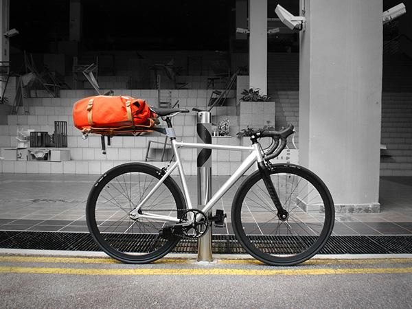 简约多用的自行车后座(二)
