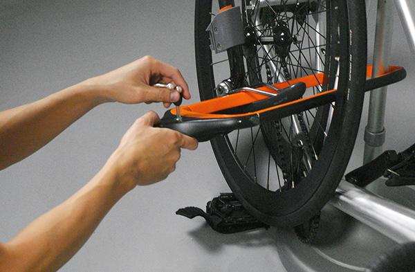 简约多用的自行车后座(五)