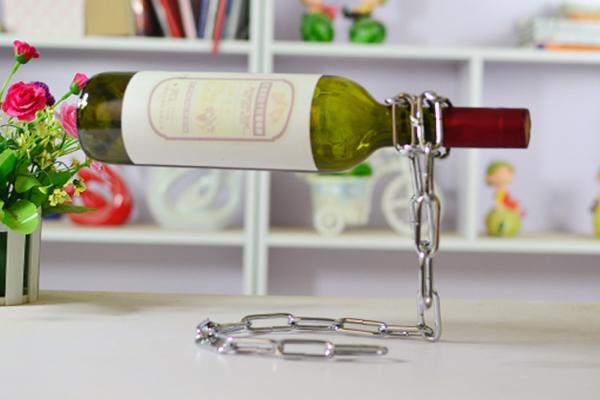 神奇锁链创意红酒架(三)