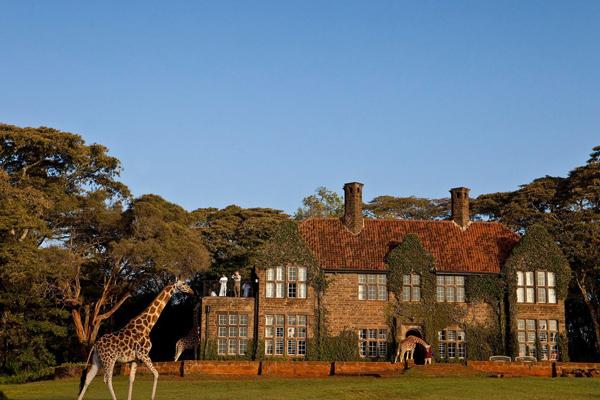 长颈鹿庄园(二)