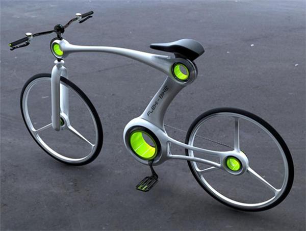 嚣张的骨骼自行车设计