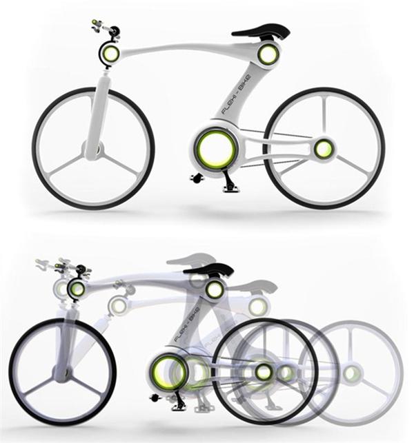 嚣张的骨骼自行车设计(三)