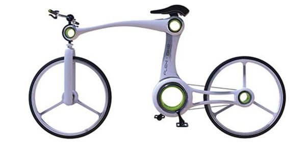 嚣张的骨骼自行车设计(四)
