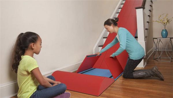 孩子天堂的折叠滑梯设计(四)