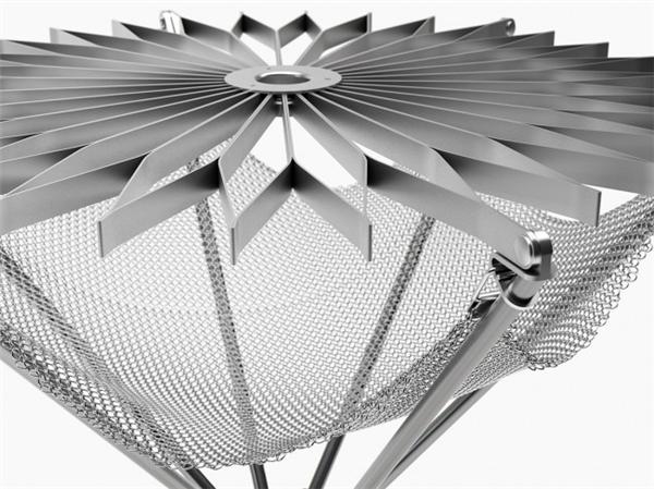 花朵型折叠烧烤架设计(三)