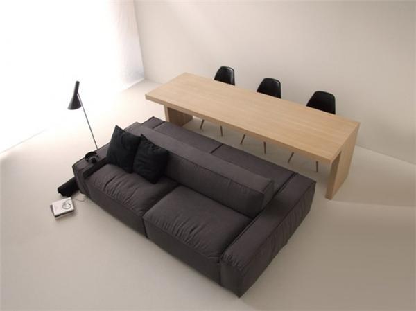 简约双边沙发设计