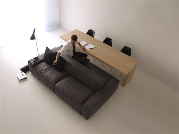 简约双边沙发设计(四)