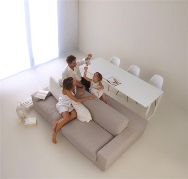 简约双边沙发设计(七)