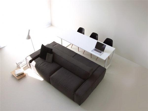 简约双边沙发设计(八)