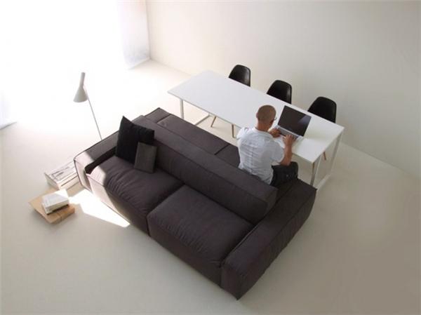 简约双边沙发设计(九)