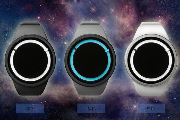 Ziiiro Eclipse系列月食款手表(二)