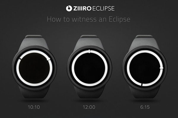 Ziiiro Eclipse系列月食款手表(四)