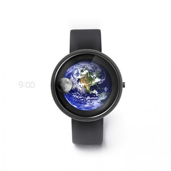 地球和月亮的浪漫手表(二)