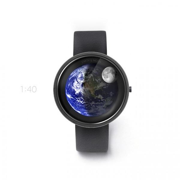 地球和月亮的浪漫手表(三)