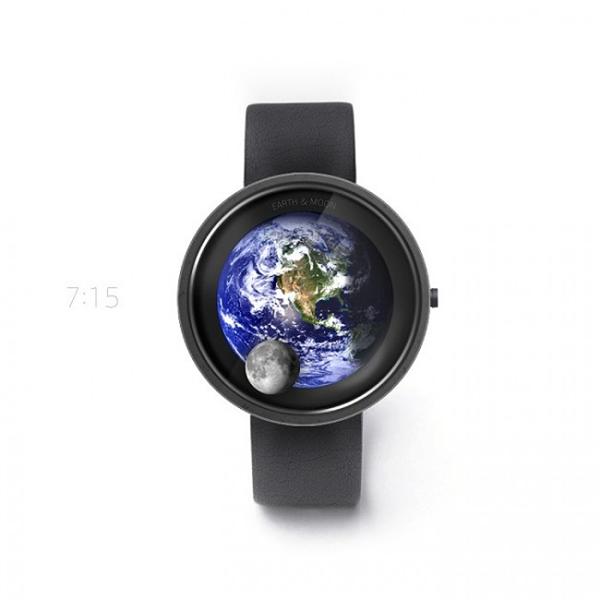 地球和月亮的浪漫手表(四)