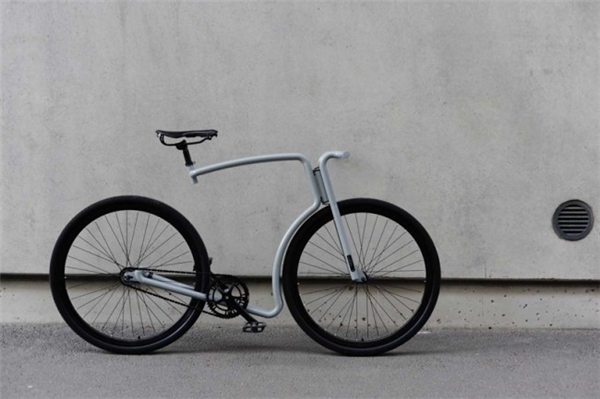 非常牛逼的钢架自行车