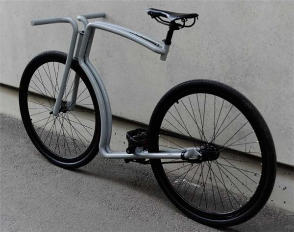 非常牛逼的钢架自行车(三)