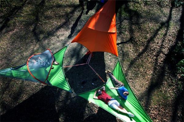 可衔接的悬浮帐篷(五)