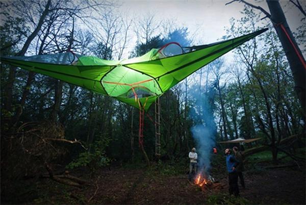 可衔接的悬浮帐篷(十)