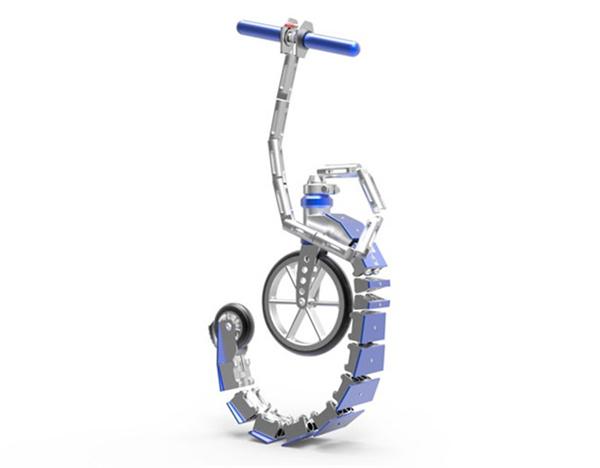 A4概念折叠滑板车(二)