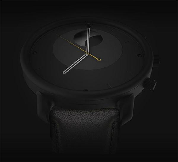概念式月相手表