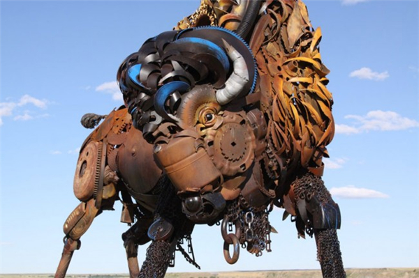 嚣张的金属雕塑(二)